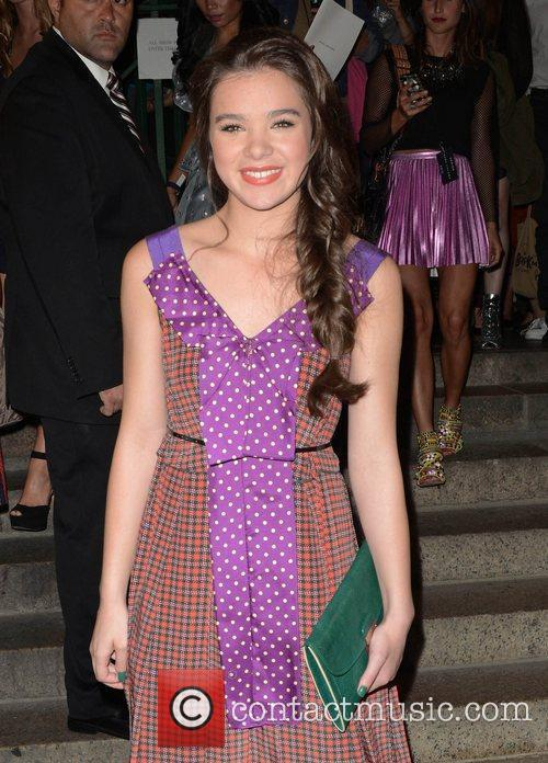 Hailee Steinfeld and New York Fashion Week 1