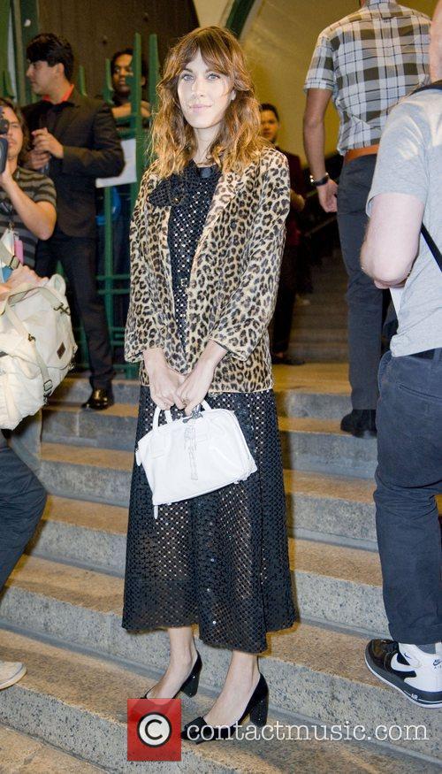 Alexa Chung Mercedes-Benz New York Fashion Week Spring/Summer...