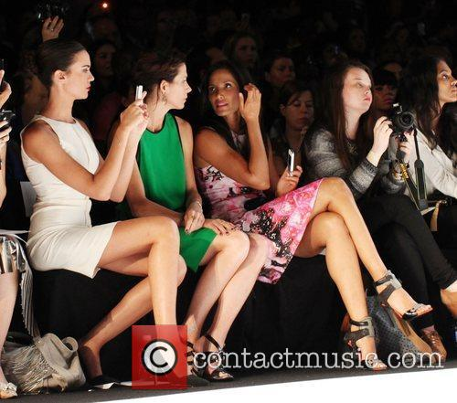 Odette Annable, Padma Lakshmi Mercedes-Benz New York Fashion...