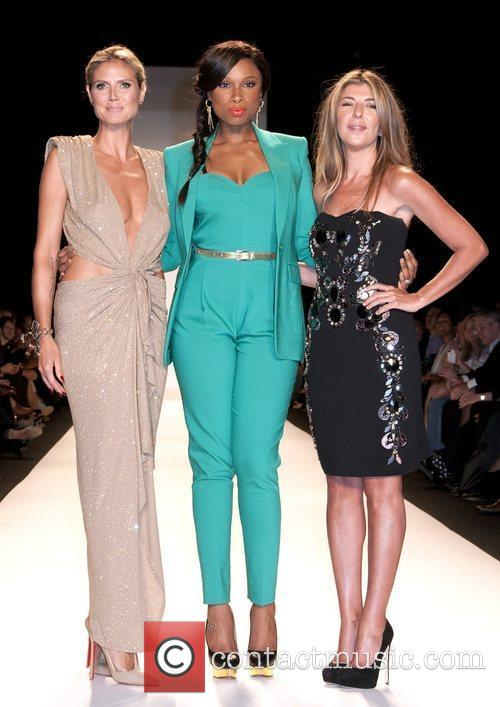 Heidi Klum, Jennifer Hudson, Nina Garcia, New York Fashion Week