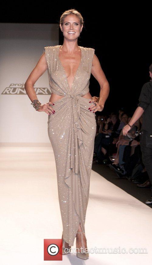 heidi klum mercedes benz new york fashion 4064547