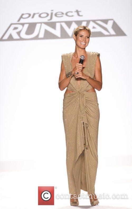Heidi Klum, New York Fashion Week