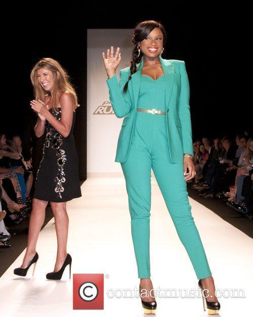 Jennifer Hudson and New York Fashion Week 2