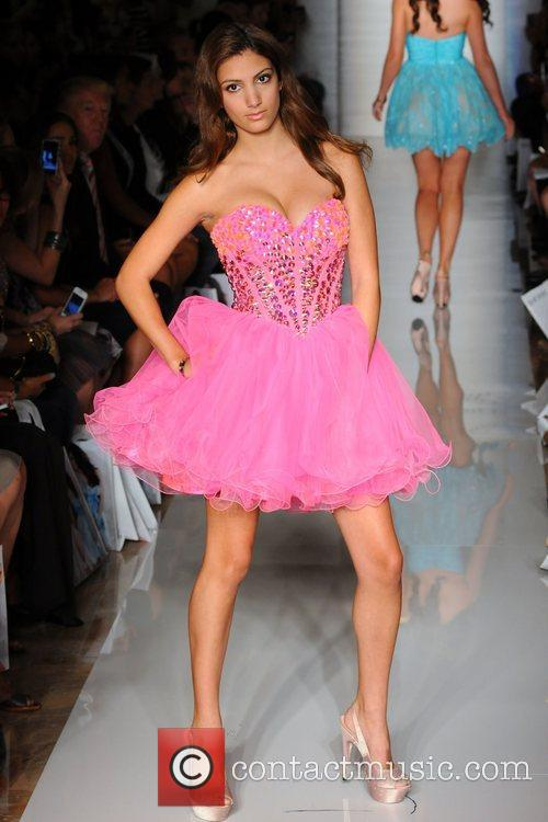 Model, Alyssa Campanella and New York Fashion Week 6