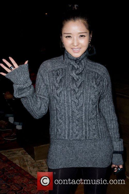 He Jie Mercedes-Benz Fashion Week - Fall 2012...