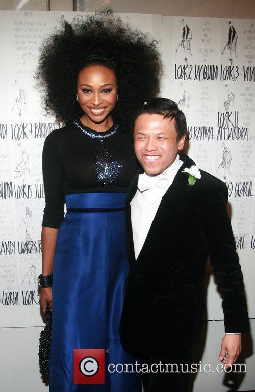 Cynthia Bailey and Zang Toi Mercedes-Benz Fashion Week...