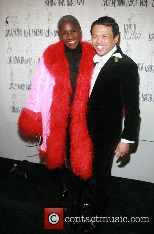Hazelle Goodman and Zang Toi Mercedes-Benz Fashion Week...