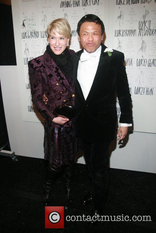 Julie Macklowe and Zang Toi Mercedes-Benz Fashion Week...