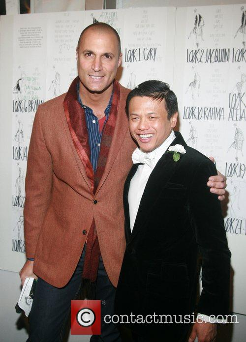Nigel Barker and Zang Toi Mercedes-Benz Fashion Week...