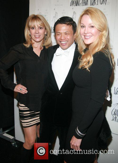 Ramona Singer, Zang Toi and Guest Mercedes-Benz Fashion...