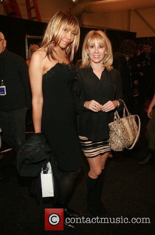 Tia Walker and Ramona Singer Mercedes-Benz Fashion Week...