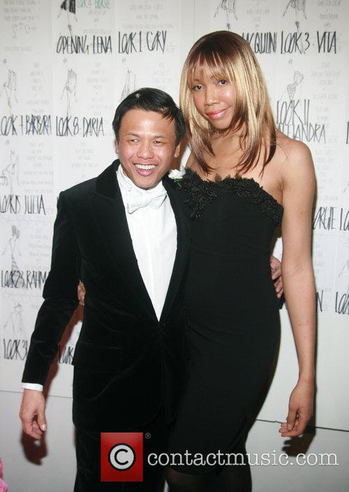 Zang Toi and Tia Walker Mercedes-Benz Fashion Week...