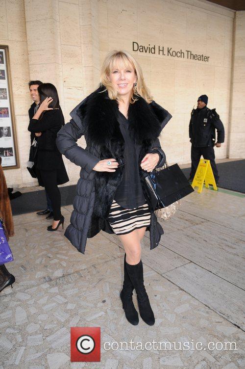 Ramona Singer Mercedes-Benz Fashion Week - Fall 2012...