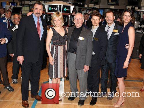 Cbs, Bridget Moynahan, Donnie Wahlberg, Len Cariou, Stock, Tom Selleck and Will Estes 1
