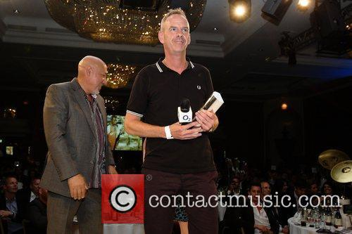 Norman Cook aka Fat Boy Slim receives the...