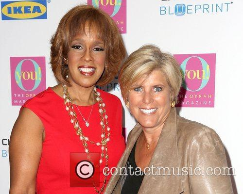 Gayle King and Suze Orman 5