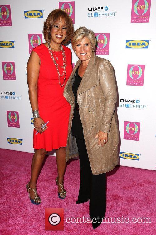 Gayle King and Suze Orman 2