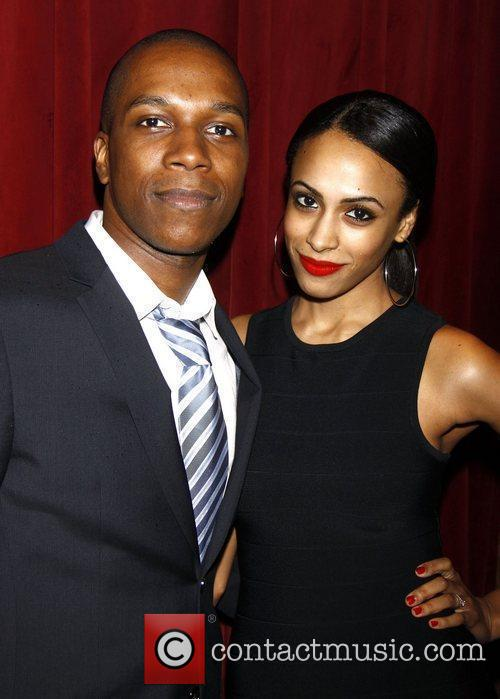 Leslie Odom Jr. and Nicolette Robinson  The...