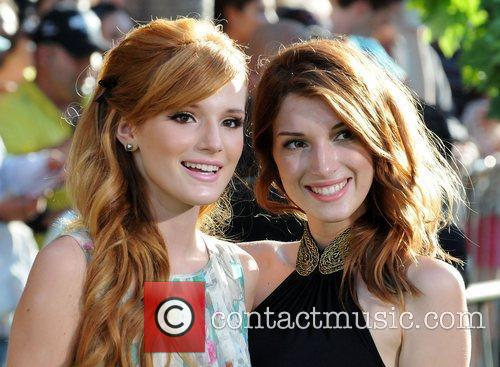 Bella Thorne and guest at the World Premiere...