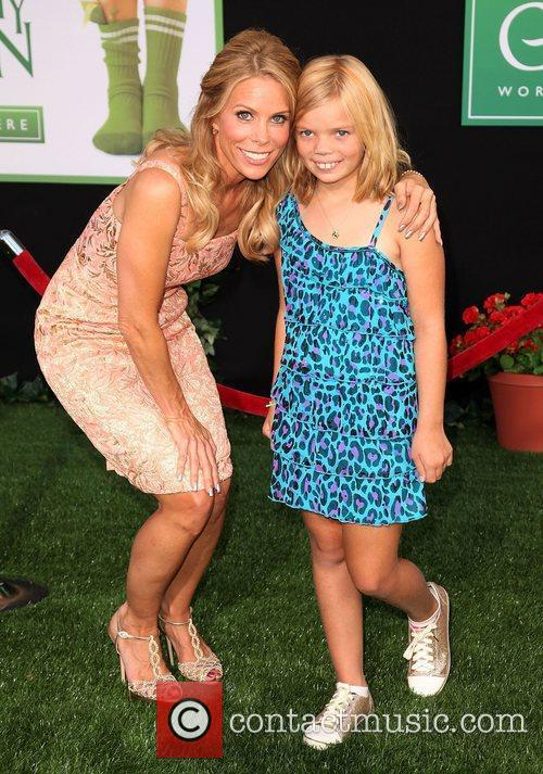 Cheryl Hines and daughter at the World Premiere...