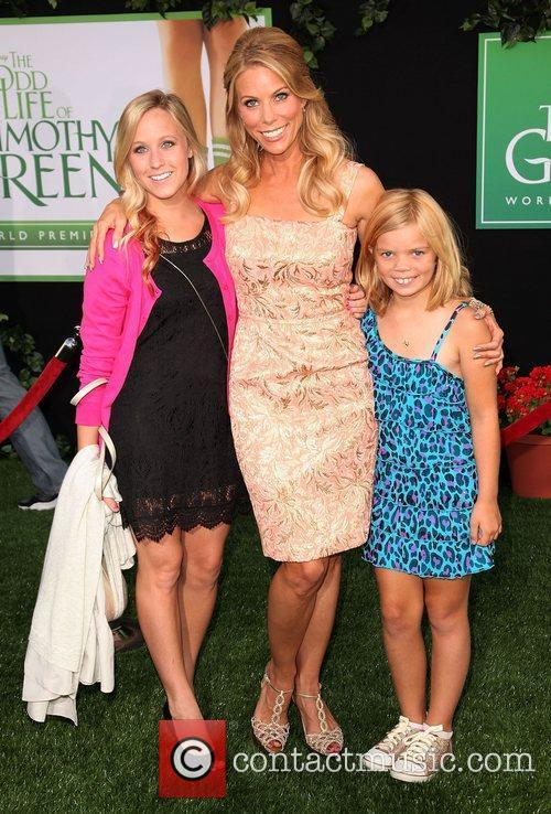Cheryl Hines and guests at the World Premiere...