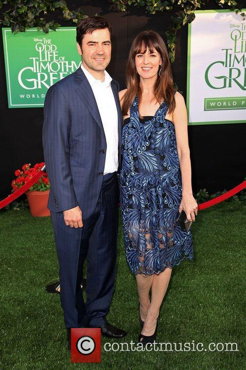 Ron Livingston and Rosemarie Dewitt 2