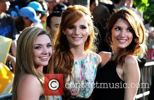 Bella Thorne her sister Dani Thorne and guest...