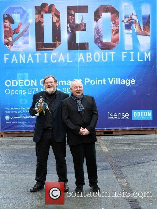 brendan gleeson and harry crosbie photocall for 3795222