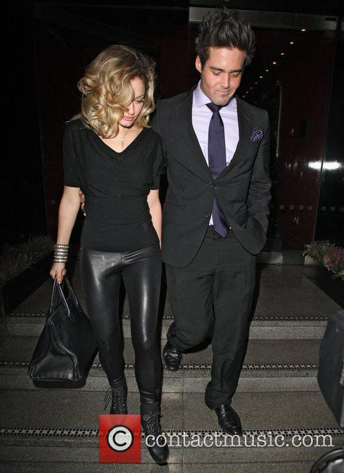 Hugo Taylor and Caggie Dunlop,  at the...