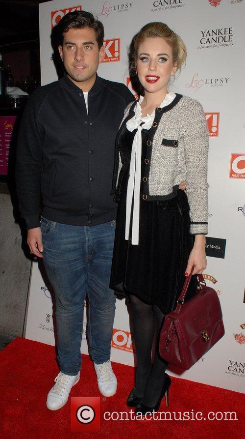 James Argent and Lydia Bright OK! Magazine Christmas...
