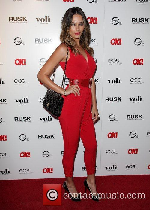Alicia Hall OK! Magazine's Sexy Singles Party -...