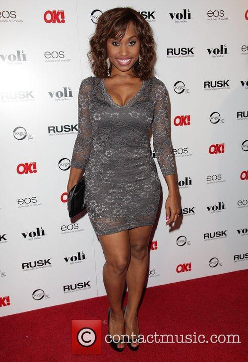 Angell Conwell OK! Magazine's Sexy Singles Party -...