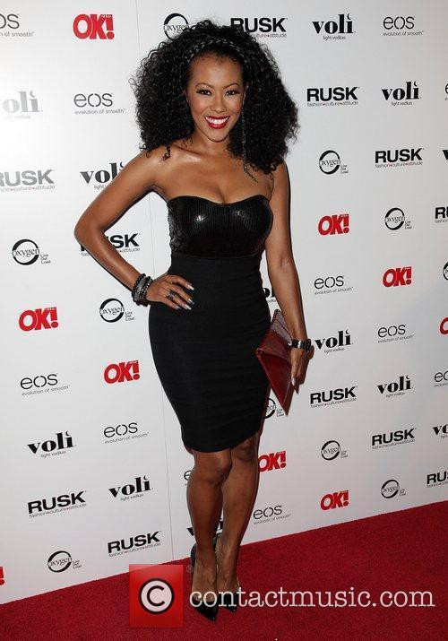 Denyce Lawton OK! Magazine's Sexy Singles Party -...