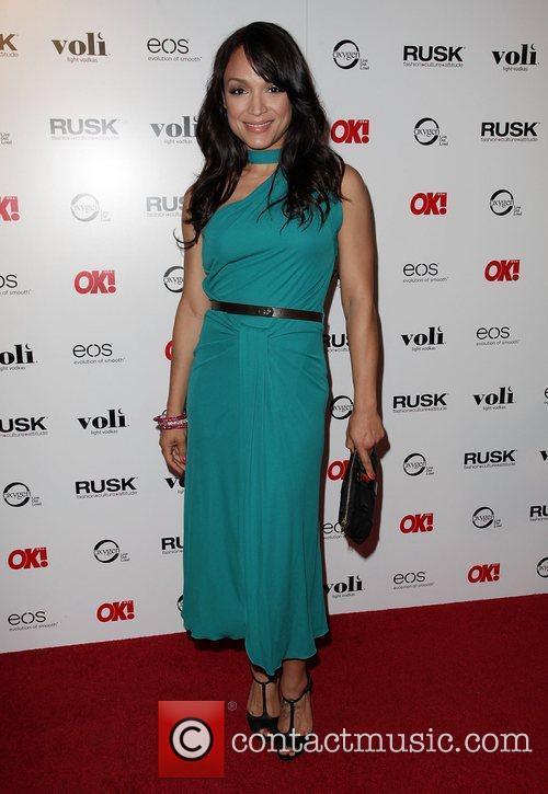 Mayte Garcia OK! Magazine's Sexy Singles Party -...