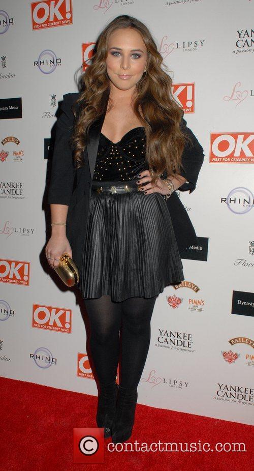 Chloe Green  OK! Magazine Christmas Party -...