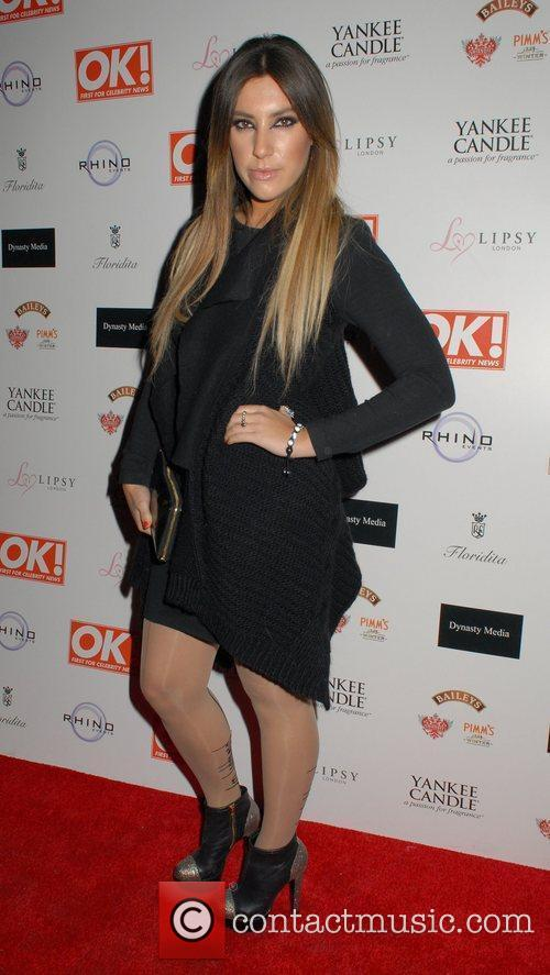 Gabriella Ellis  OK! Magazine Christmas Party -...