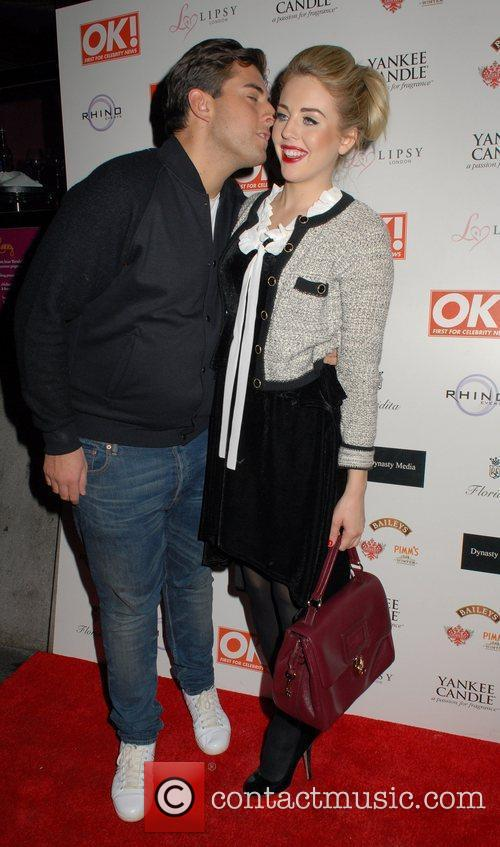 James Argent and Lydia Bright  OK! Magazine...