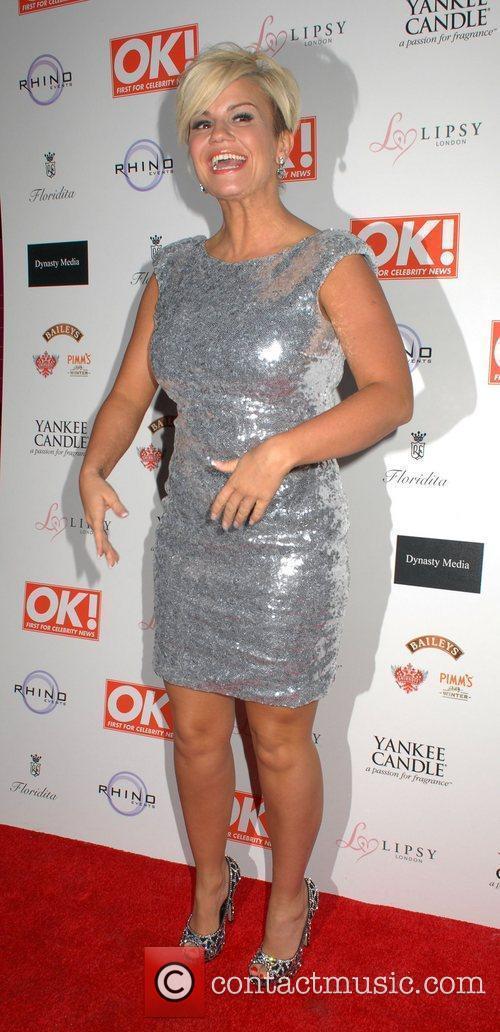 Kerry Katona  OK! Magazine Christmas Party -...