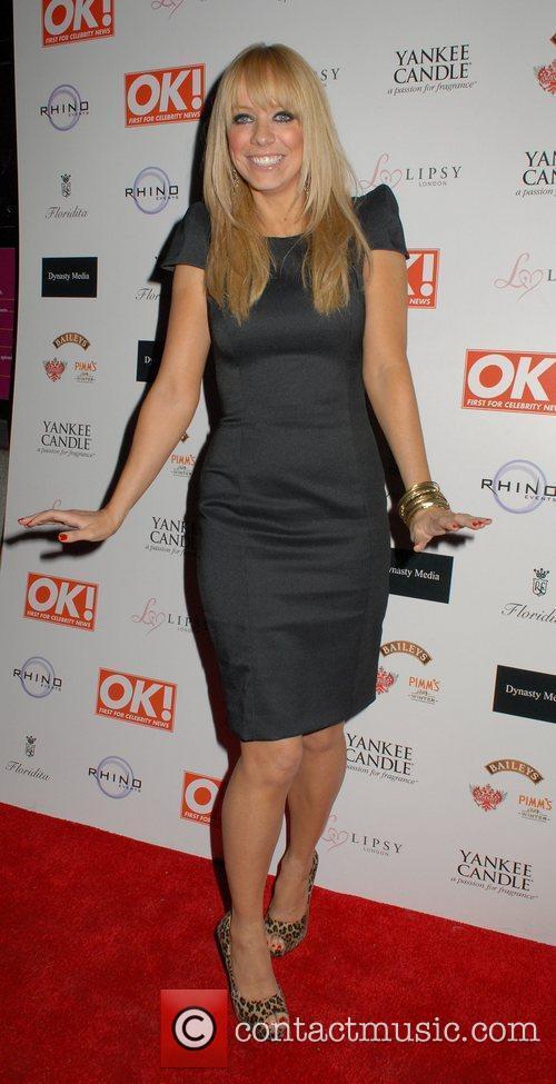 Liz McClarnon  OK! Magazine Christmas Party -...