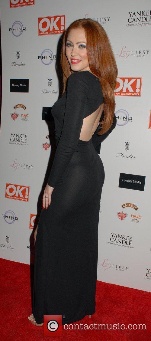 Natasha Hamilton  OK! Magazine Christmas Party -...