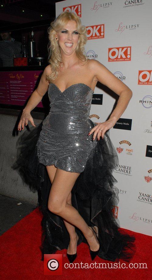 Nikki Zilli  OK! Magazine Christmas Party -...