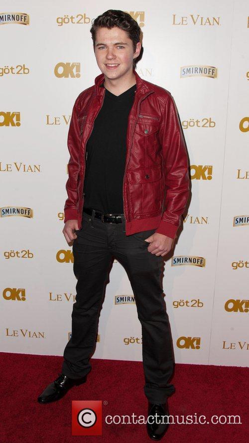 Damian McGinty OK! Magazine's Pre-Grammy Event at Tru...