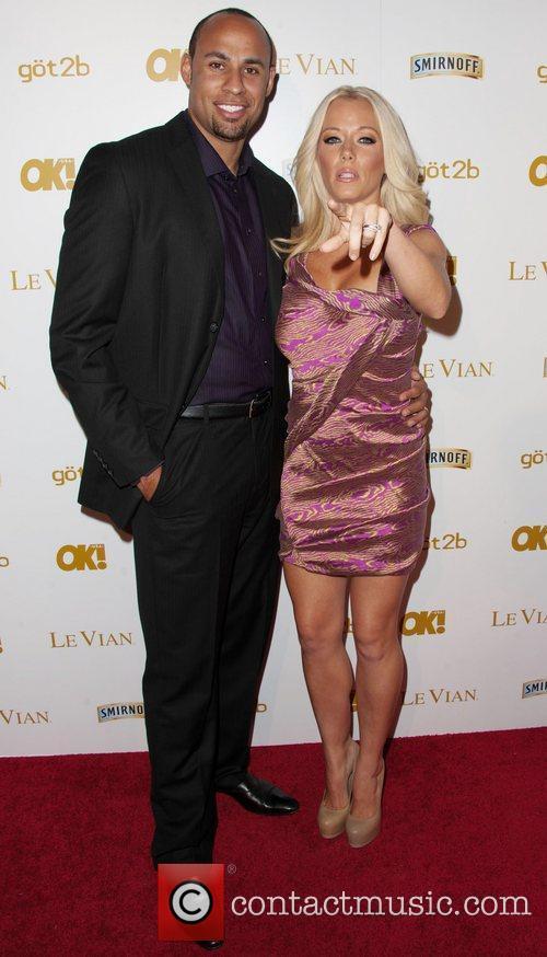 Hank Baskett, Kendra Wilkinson and Grammy 2