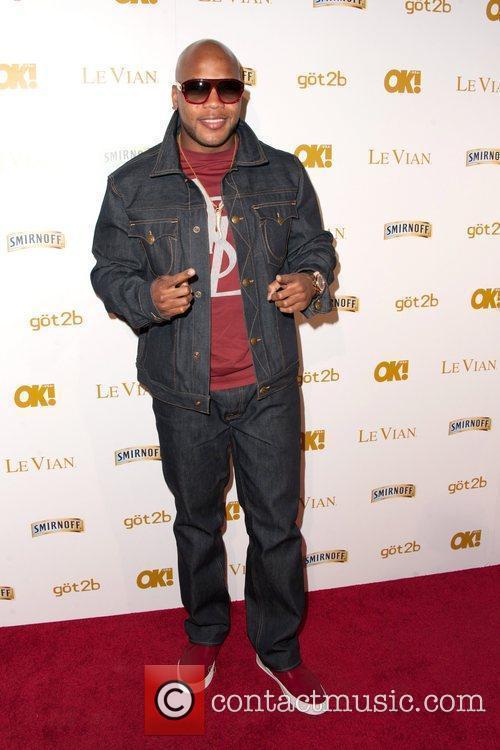 Flo Rida OK! Magazine's Pre-Grammy Event at Tru...