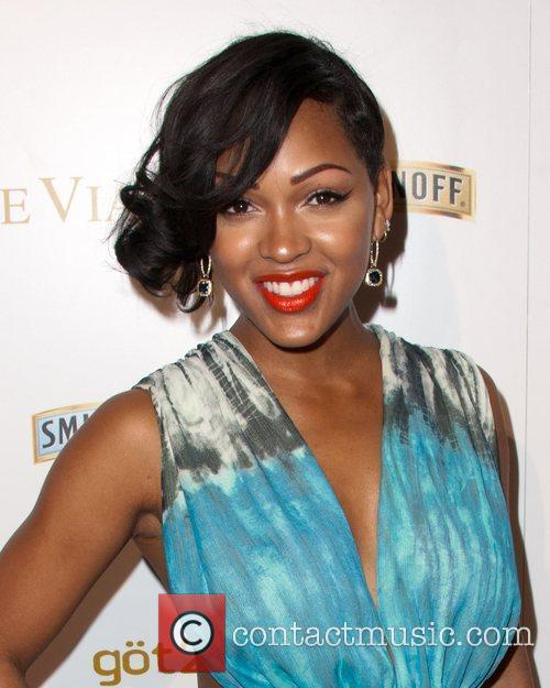 Meagan Good and Grammy 3