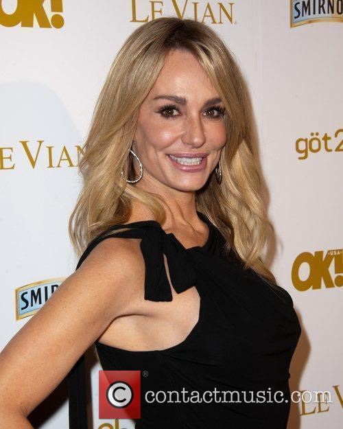 Taylor Armstrong and Grammy 1