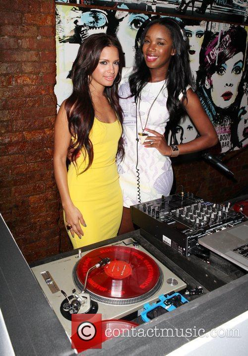 Rosci Diaz and DJ Kiss The OK! Magazine...