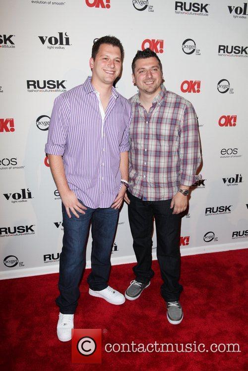 Albie Manzo, Chris Manzo The OK! Magazine 6th...
