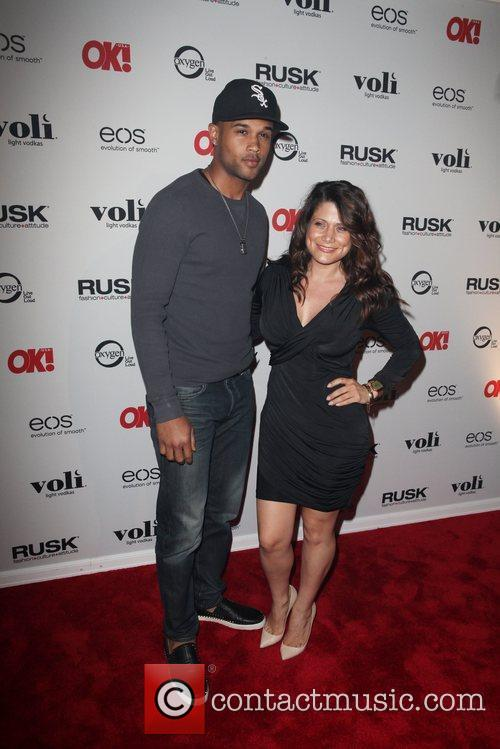 Andre Douglas and Anne Marie The OK! Magazine...