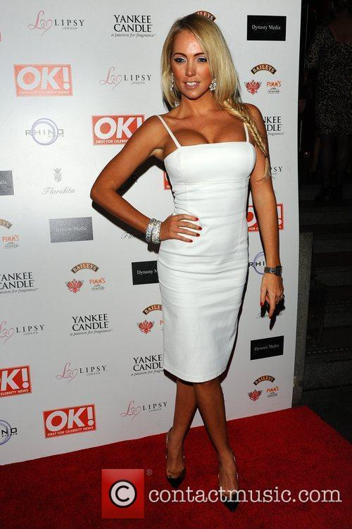 Aisleyne Horgan Wallace,  at the OK! Magazine...